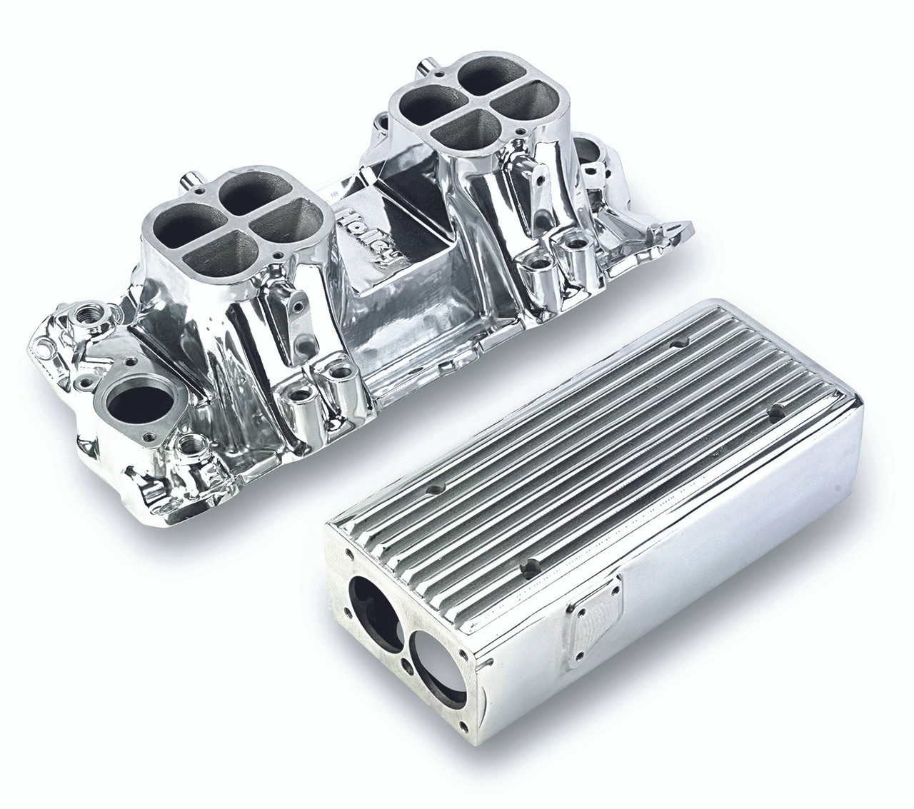 Weiand Stealth Ram Intake Manifold TPI, Polished, Stealth
