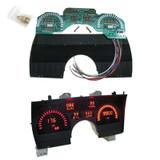 91-92 Camaro Digital Instrument Gauge Cluster Panel Kit