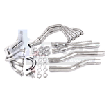 "TSP 2014+ C7 Corvette 1-7/8"" Stainless Long Tube Headers & 3"" Off Road X-Pipe"