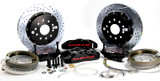 "82-92 Camaro/Firebird BAER Rear Pro+ Brake System w/ 13"" Rotors, w/ Park Brake, (For Stock 10 Bolt With Disc)"