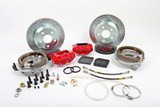 "82-92 Camaro/Firebird Brake Kit, BAER Rear SS4 Brake System w/ 12"" Rotors, (For Stock 10 Bolt With Disc)"