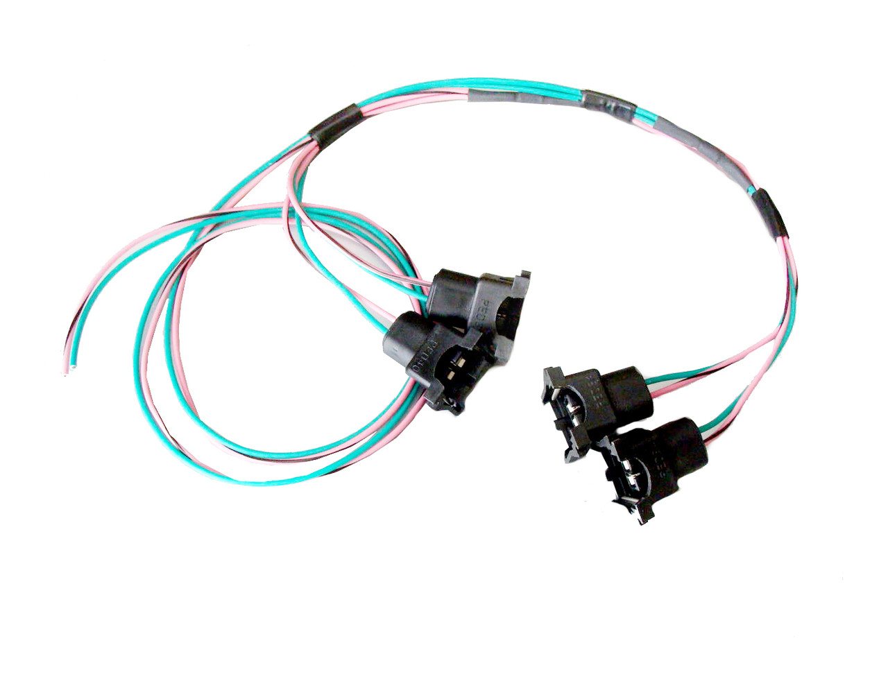 85 95 tpi lt1 fuel injector connector wiring harness assembly lh rh  hawksmotorsports com Wire Harness Diagram 95 Camaro Z28 1995 LT1 Wiring  Harness