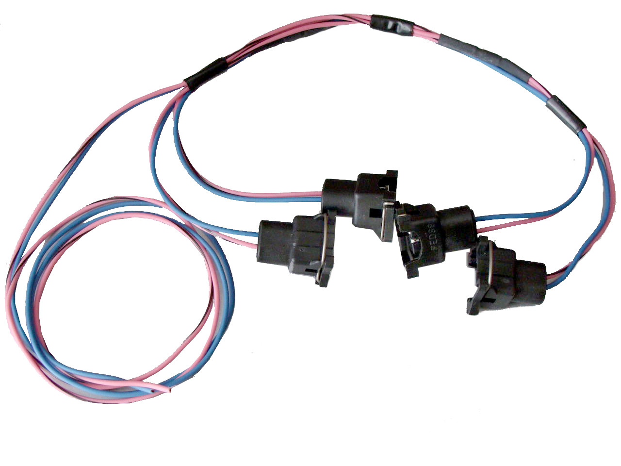 85 95 Tpi Lt1 Fuel Injector Connector Wiring Harness Assembly Rh Corvette Ls1 Together With 1985 Trans Am Diagram Image 1