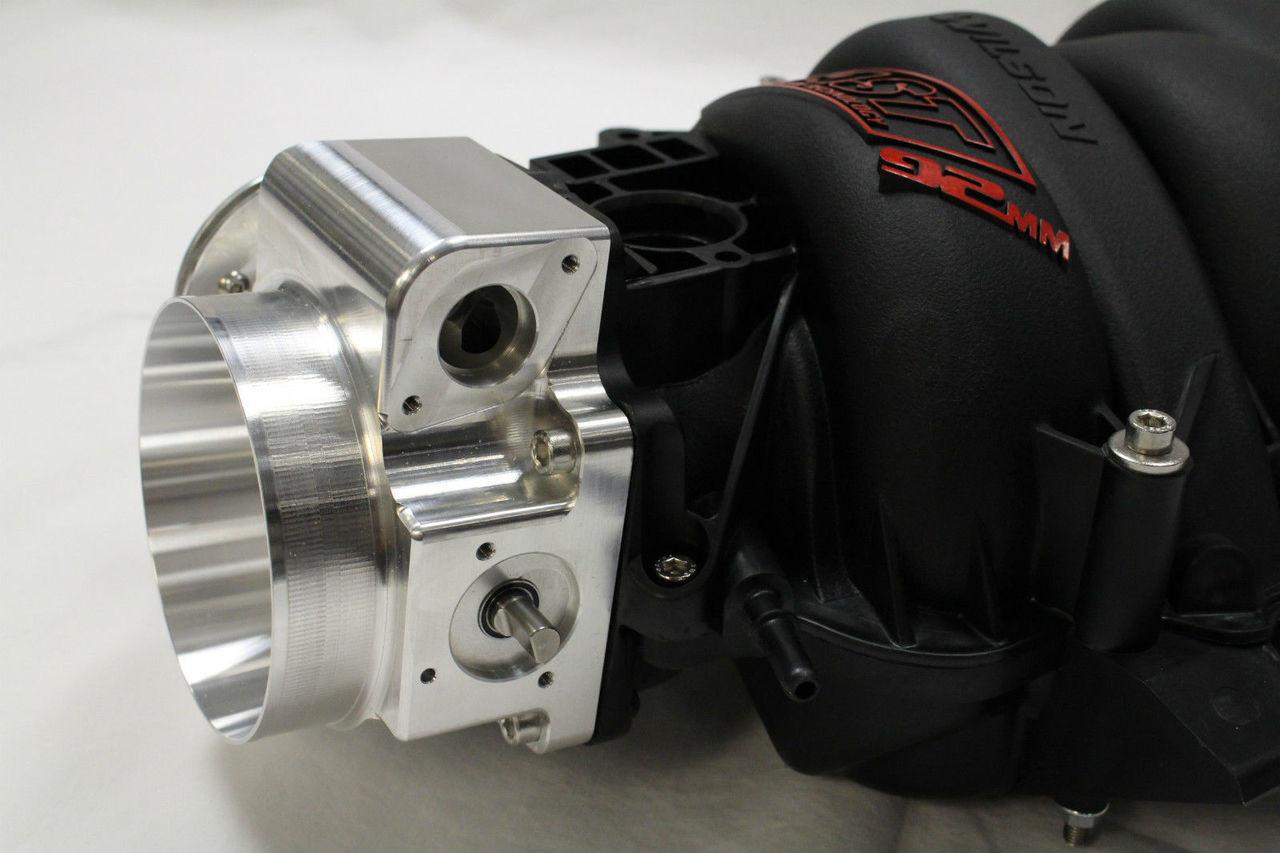 FAST 92mm LSX Black Intake Manifold w/ Nick Williams Throttle Body  LS1/LS6/LS2