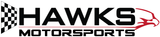 Hawks Motorsports Vinyl Window Cut-Out Sticker