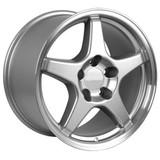 93-2002 Camaro SS / ZR1 Wheel Set of 4 (96-99 SS style), 17x9.5, Silver, OE Replica