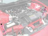 Camaro/Firebird 93-02 Hood Adjust Rubber Bumper Stop, Outer Side Reproduction