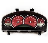 2004-06 Pontiac GTO Holden Monaro 200mph Instrument Gauge Cluster Red  92172960