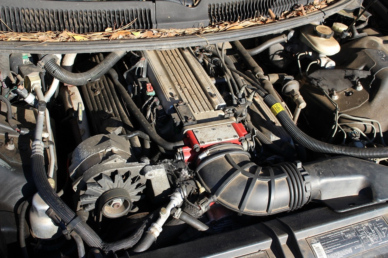 1993 Trans Am 5.7L LT1 Engine w/ T56 6-Sd Trans 168K Miles ... on gm wiring, ford wiring, relay wiring,