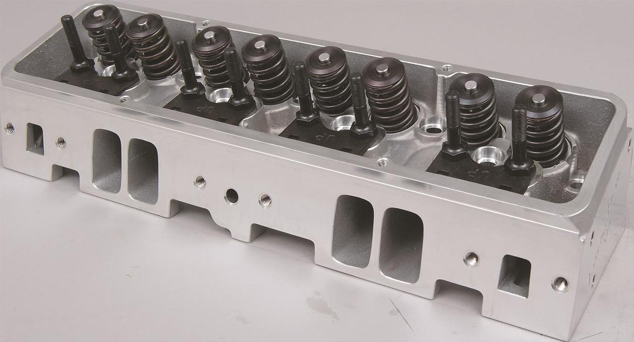 Trick Flow ® Super 23 ® 195, Fast as Cast ® Assembled Cylinder Heads for V8  SBC Pre-86, 72cc CNC 1 470
