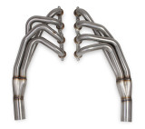 "1970-1981 2nd Gen F-Body 2"" 304SS Long-tube Headers w/ Brushed Finish; Compatible with DSE (Detroit Speed & Engineering) Subframe"