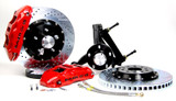 """BAER Rear Extreme+ Brake System w/ 14"""" Rotors, w/ Park Brake, 82-92 Camaro/Firebird (For Stock 10 Bolt With Drums)"""