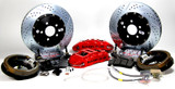 """BAER Rear Extreme+ Brake System w/ 14"""" Rotors, w/ Park Brake, 82-92 Camaro/Firebird (For Stock 10 Bolt With Disc)"""
