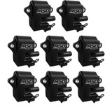 MSD Black Pro Power Coils for GM LS1/LS6, Pack of 8