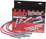 MSD Super Conductor Spark Plug Wires, 93-97 LT1, Red