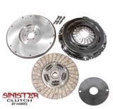 Hawks STAGE 1 Sinister Clutch Kit w/ Billet Flywheel, Camaro/Firebird/GTO/Corvette/CTS-V 97-2014 LS1, LS2, LS3, LS6