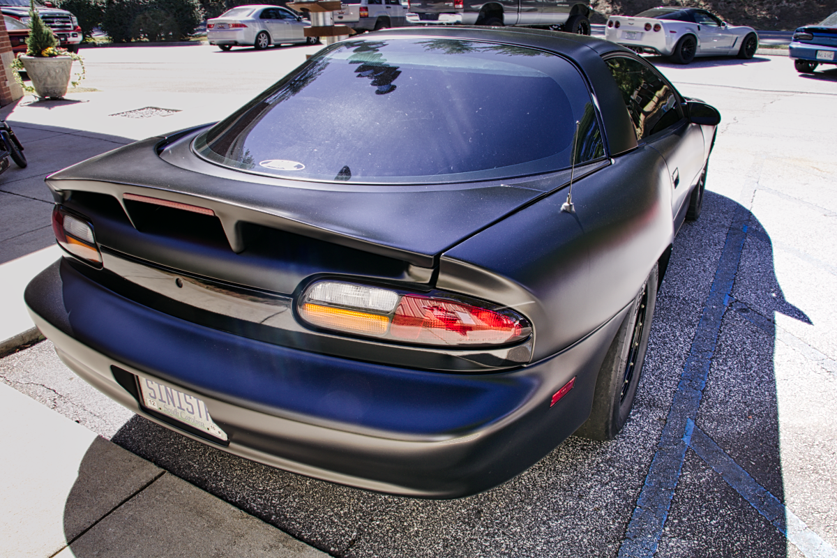 93-02 Camaro Sinister Fiberglass Wide Body Quarter Panels, HAWKS EXCLUSIVE