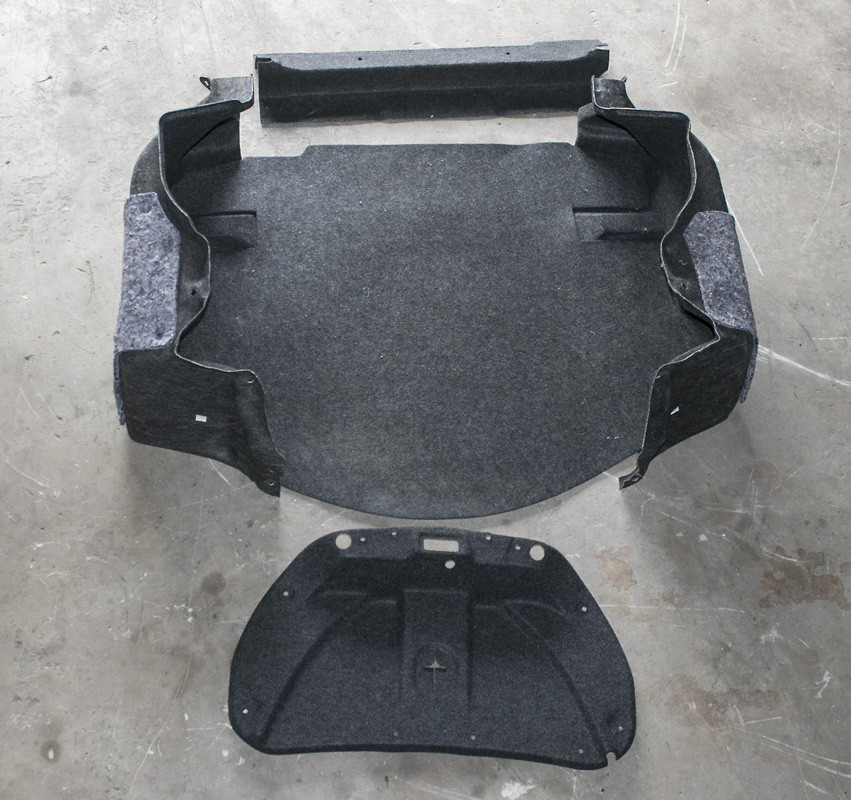 2011-2015 Camaro 5 Piece Trunk Carpet Kit, OEM GM - Used