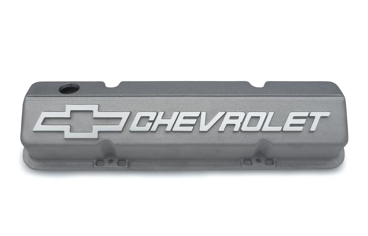 Valve Cover, Pre-1986 Aluminum Bowtie Short 18 Degree