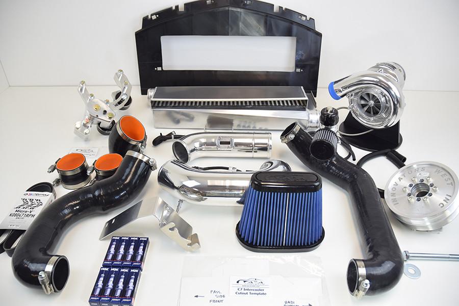 A&A Supercharger Kit, 2014-18 Corvette LT1