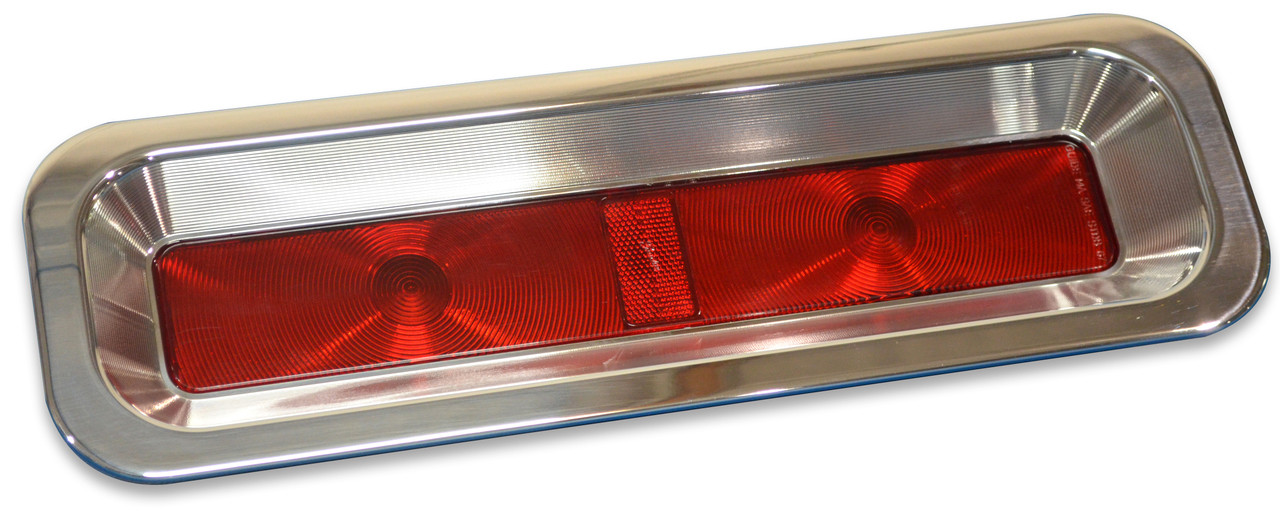 1967-1968 Camaro RS Billet Aluminum Taillight Bezels with LED's