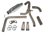 "1998-02 Camaro/Firebird LS1 SLP Exhaust System, ""Loud Mouth"" W/3.5"" Slash Tip, SLP"