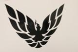 Custom Firebird Trans Am Formula Phoenix Bird Decal 14x11 Black