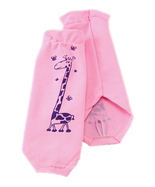 GIRAFFE CLASSIC PINK SUN SLEEVES PRODUCT