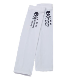SKULL SKATE WHITE SUN SLEEVES PRODUCT