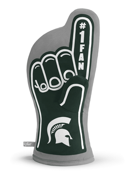 michigan state oven mitt