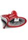 detroit red wings oven mitt