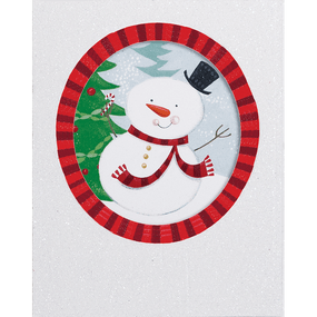 jolly snowman small boxed cards, front