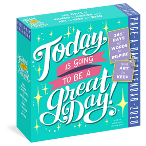 great day 2020 page a day calendar