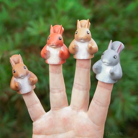 finger squirrels
