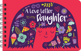 a love letter to my daughter, front cover