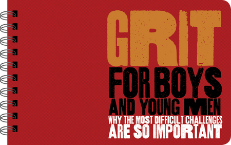 grit - for boys, front cover