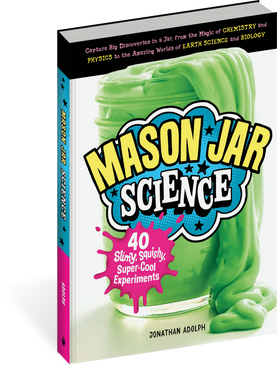 mason jar science, front cover