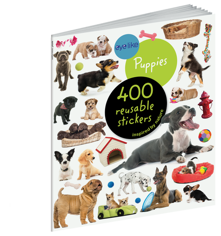 eyelike stickers: puppies, front cover