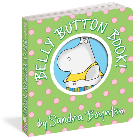 belly button book, front