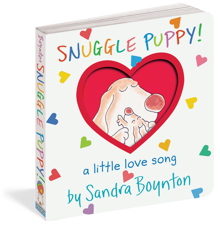 snuggle puppy, front cover