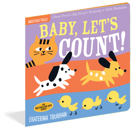 indestructibles: baby, let's count!, front cover