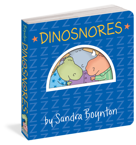 dinosnores, front cover