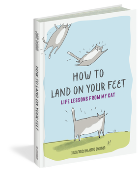 how to land on your feet, front cover