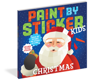 paint by sticker christmas, front cover