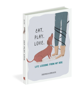 eat play love book, front cover