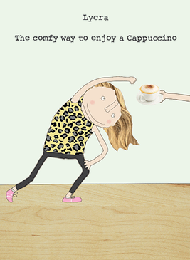 comfy cappuccino birthday card