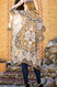 "Charcoal, boho mandala kimono, split angel sleeve, APPROX. L 39 1/2"" W 71"""
