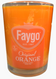 orange pop, faygo soy candle, 8 oz