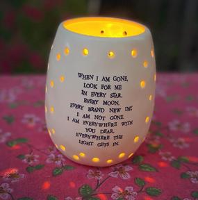 with you always garden lantern