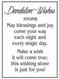 Dandelion, charm, stone, blessings, joy, make a wish, card